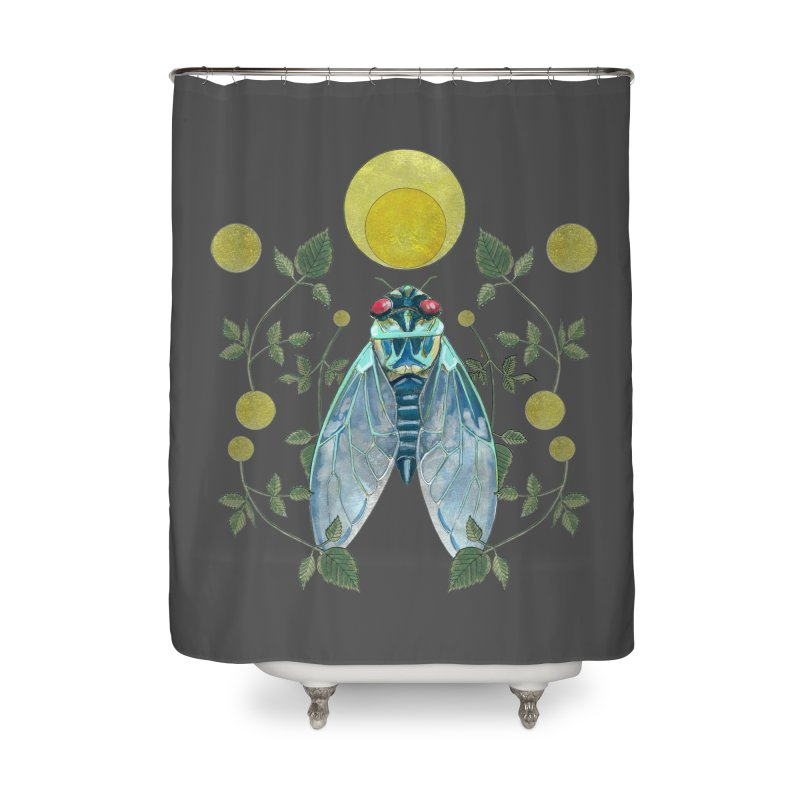 Rise Home Shower Curtain by mwashburnart's Artist Shop