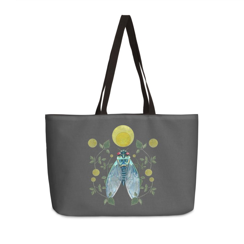 Rise Accessories Weekender Bag Bag by mwashburnart's Artist Shop