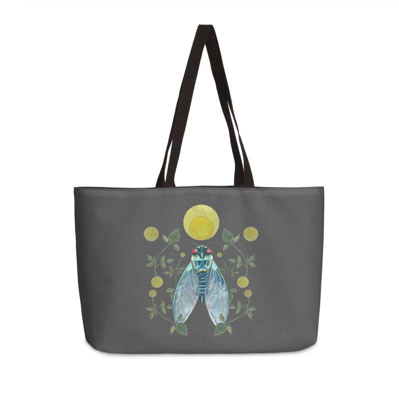 Rise Accessories Weekender Bag Bag by mwashburnart's Artist Shop