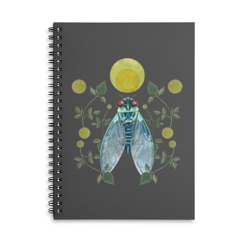 Rise Accessories Lined Spiral Notebook by mwashburnart's Artist Shop