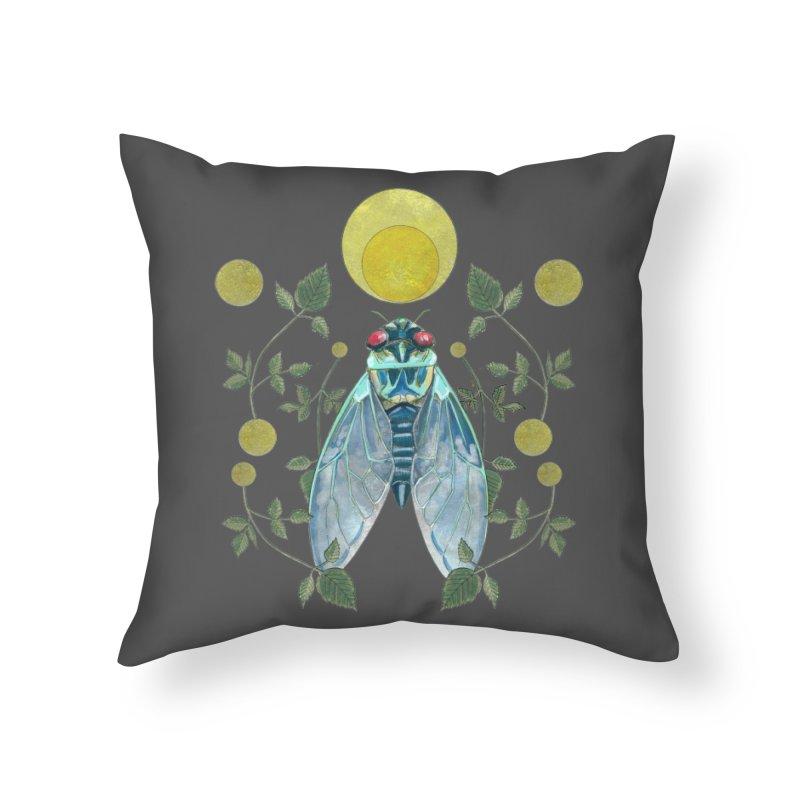 Rise Home Throw Pillow by mwashburnart's Artist Shop