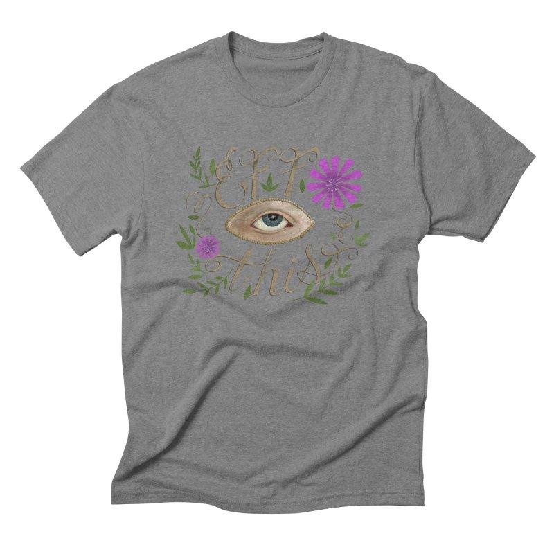 Eff This Men's Triblend T-Shirt by mwashburnart's Artist Shop