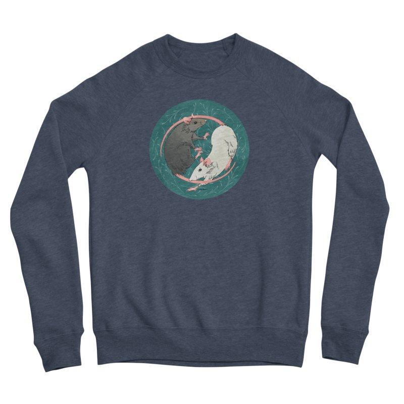 Yin and Yang Rats Men's Sponge Fleece Sweatshirt by mwashburnart's Artist Shop