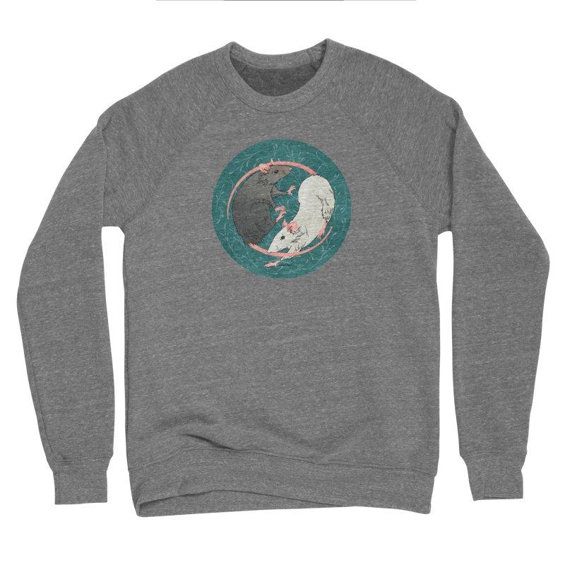 Yin and Yang Rats Women's Sponge Fleece Sweatshirt by mwashburnart's Artist Shop