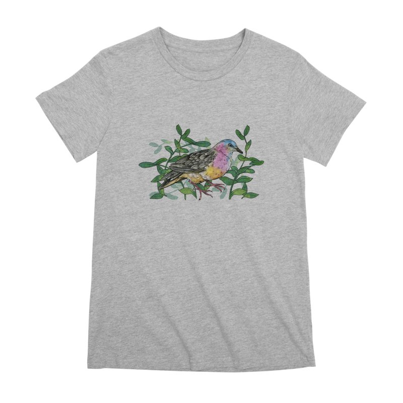 Tolima Dove Women's Premium T-Shirt by mwashburnart's Artist Shop