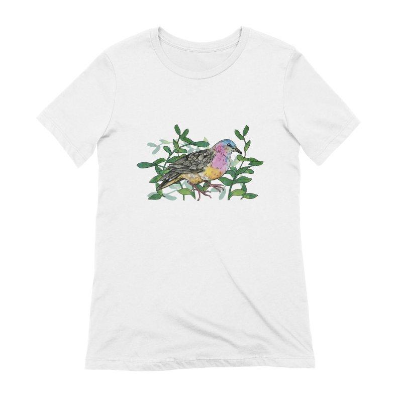 Tolima Dove Women's Extra Soft T-Shirt by mwashburnart's Artist Shop