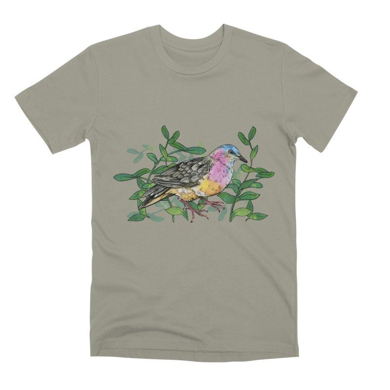 Tolima Dove Men's Premium T-Shirt by mwashburnart's Artist Shop