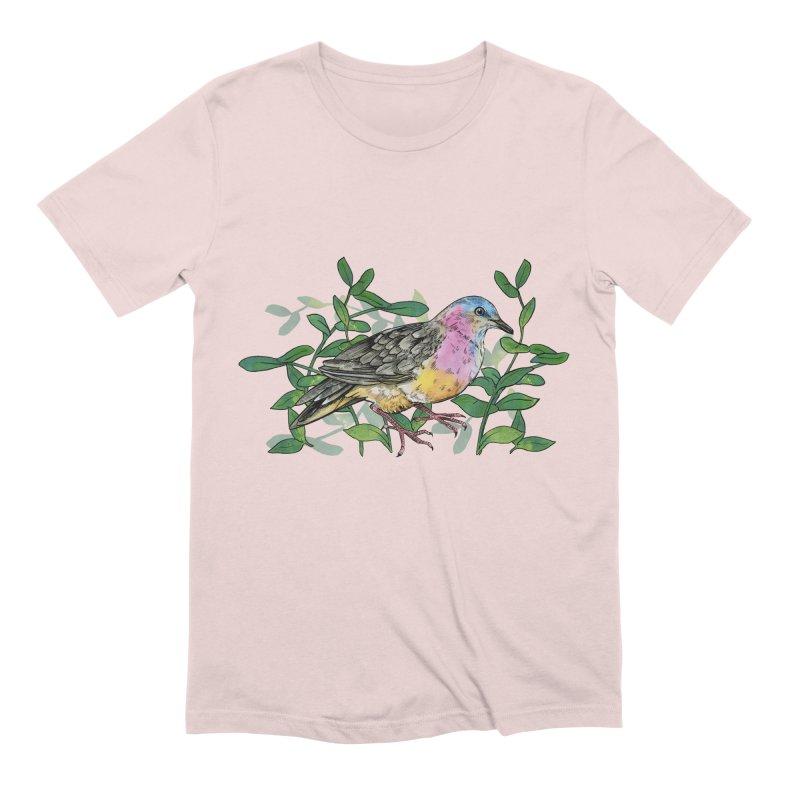 Tolima Dove Men's Extra Soft T-Shirt by mwashburnart's Artist Shop