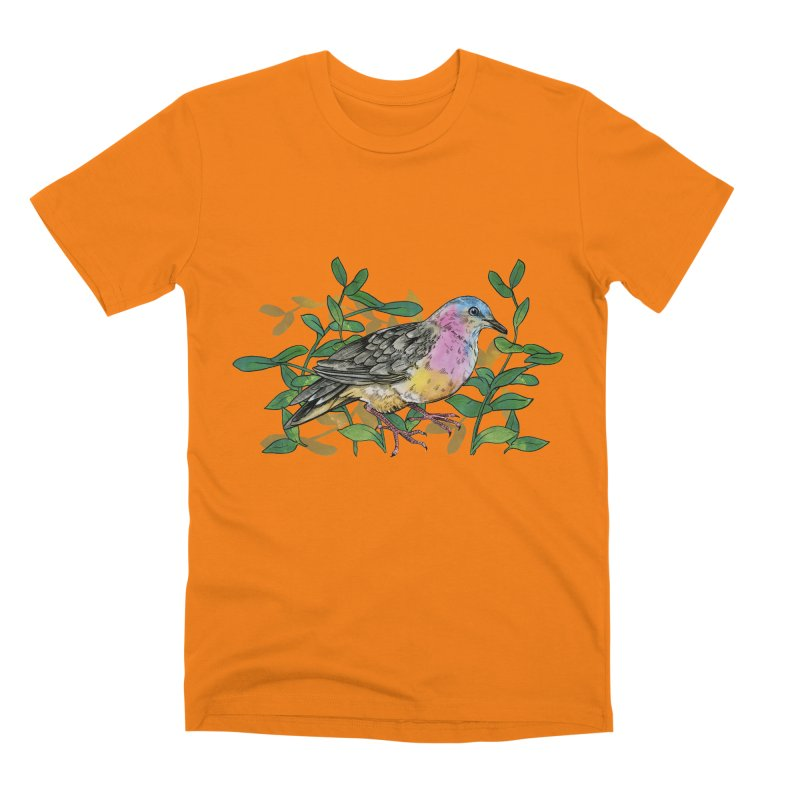 Tolima Dove Men's Premium T-Shirt by mwashburnart's Artist Shop