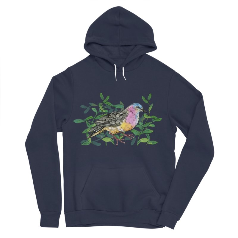 Tolima Dove Men's Sponge Fleece Pullover Hoody by mwashburnart's Artist Shop