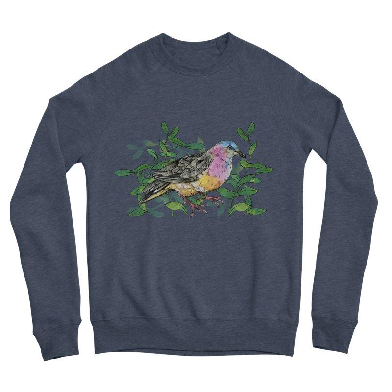 Tolima Dove Men's Sponge Fleece Sweatshirt by mwashburnart's Artist Shop