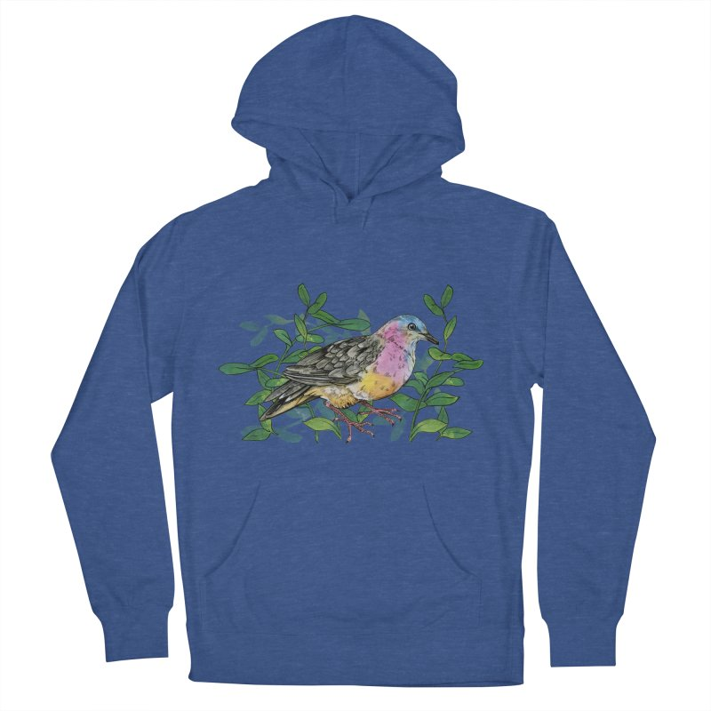 Tolima Dove Women's French Terry Pullover Hoody by mwashburnart's Artist Shop