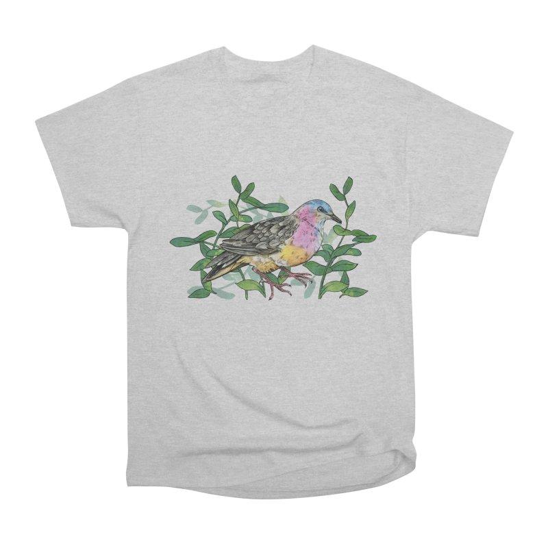 Tolima Dove Men's Heavyweight T-Shirt by mwashburnart's Artist Shop