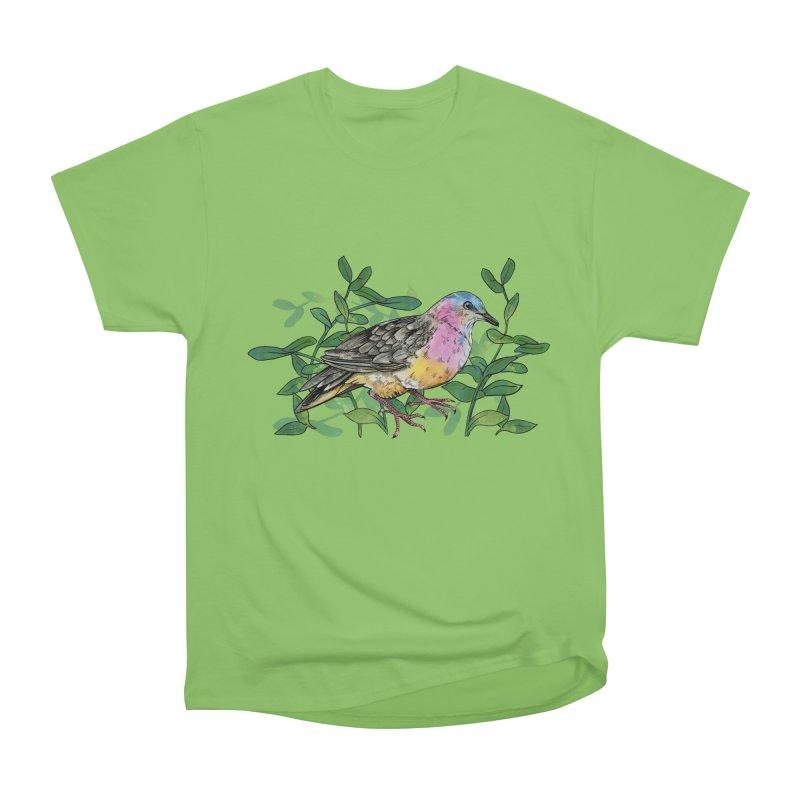 Tolima Dove Women's Heavyweight Unisex T-Shirt by mwashburnart's Artist Shop