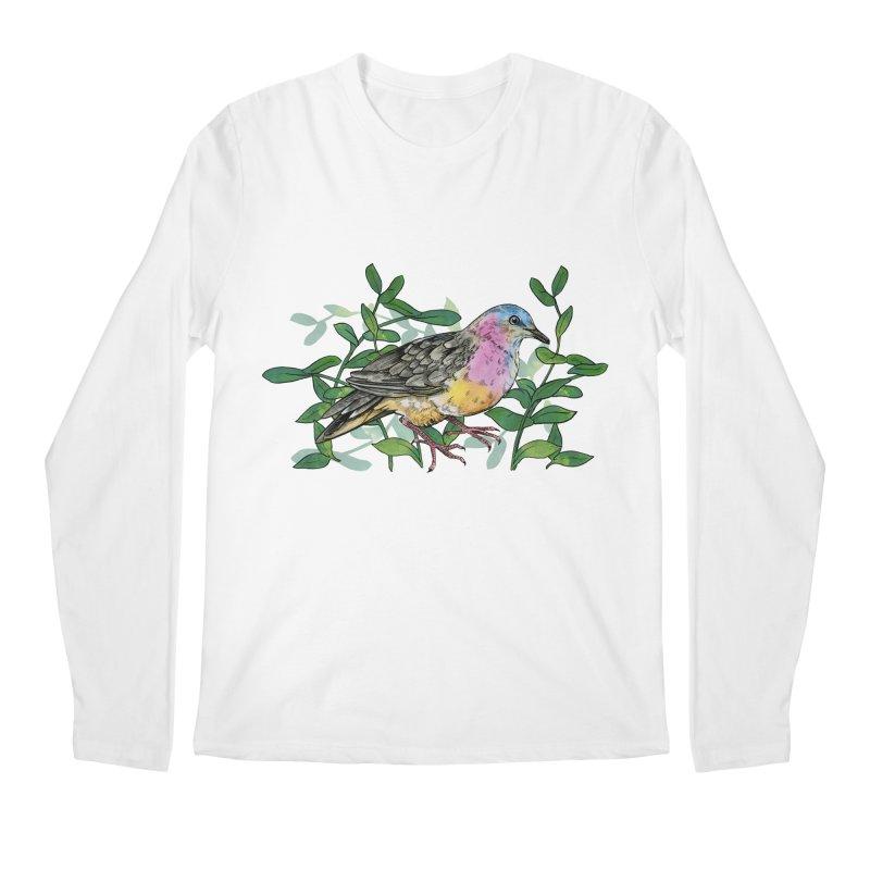 Tolima Dove Men's Regular Longsleeve T-Shirt by mwashburnart's Artist Shop
