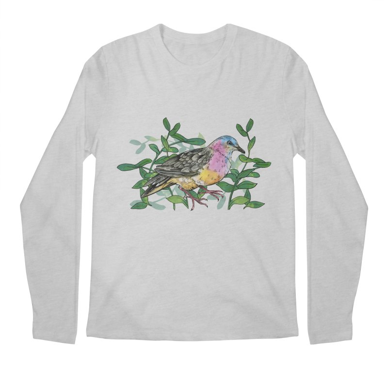 Tolima Dove Men's Regular Longsleeve T-Shirt by mwashburnart's Artist Shop