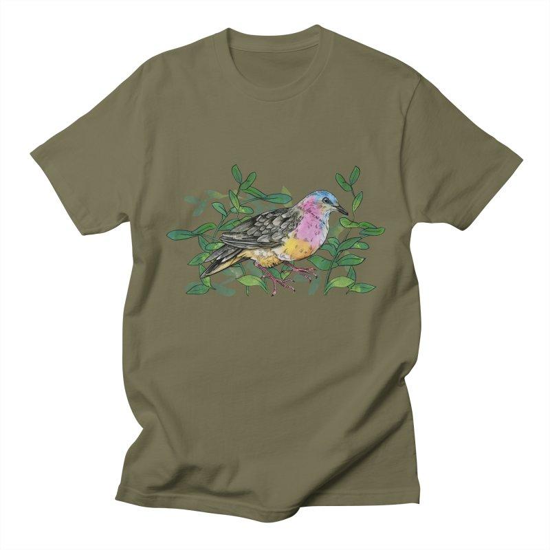 Tolima Dove Men's Regular T-Shirt by mwashburnart's Artist Shop