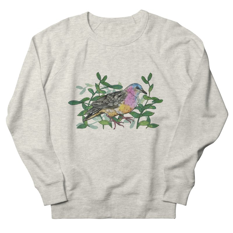Tolima Dove Women's French Terry Sweatshirt by mwashburnart's Artist Shop