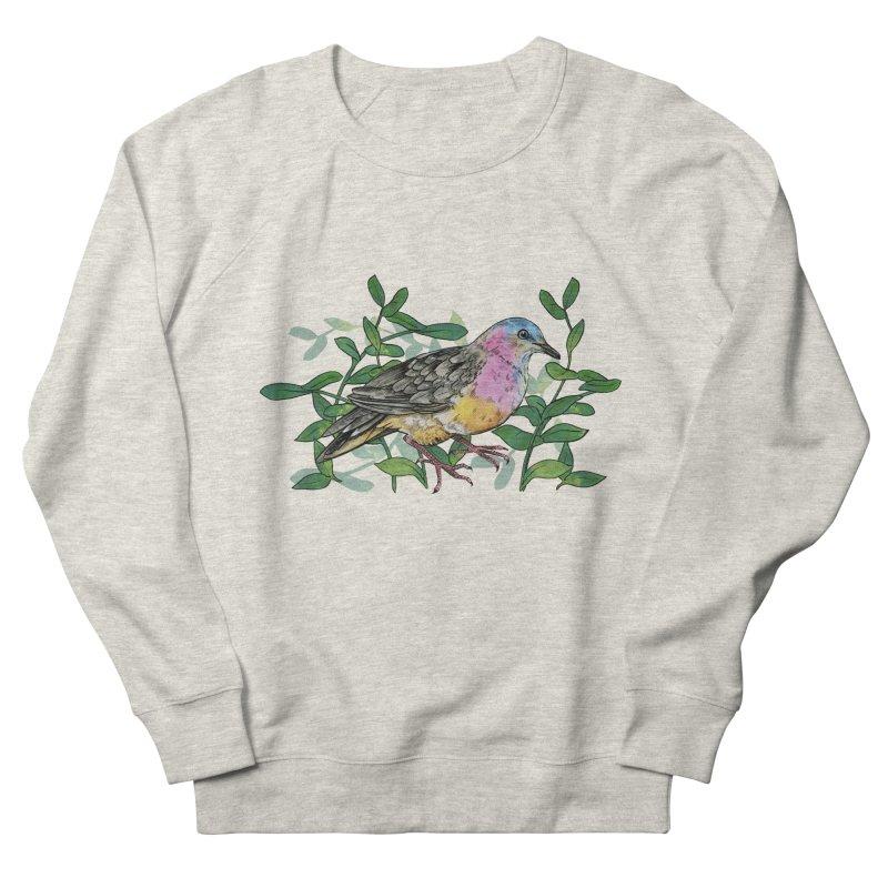 Tolima Dove Men's French Terry Sweatshirt by mwashburnart's Artist Shop
