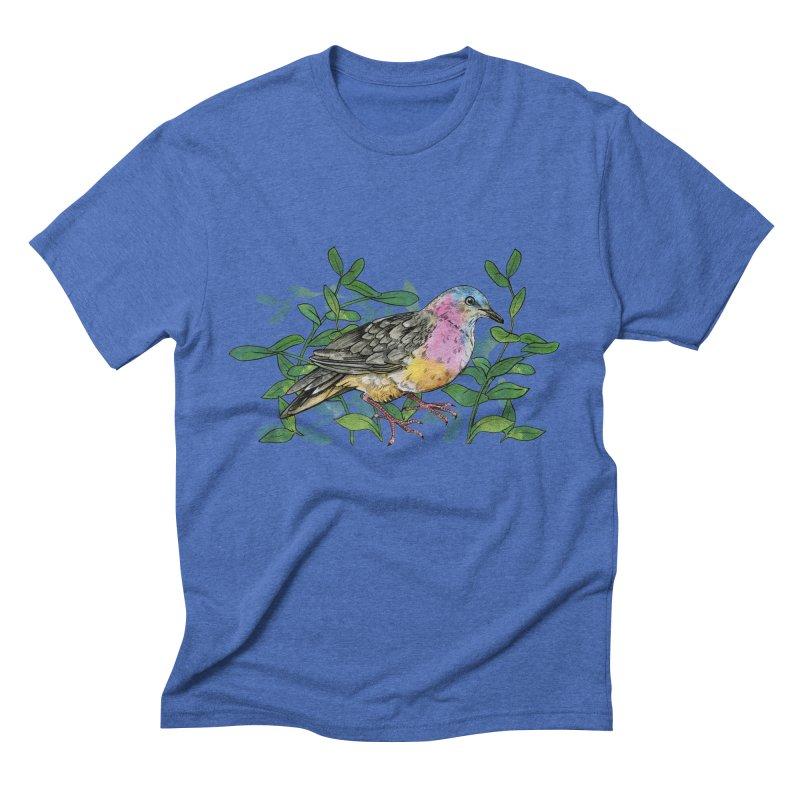Tolima Dove Men's Triblend T-Shirt by mwashburnart's Artist Shop