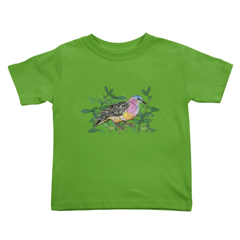 Tolima Dove Kids Toddler T-Shirt by mwashburnart's Artist Shop