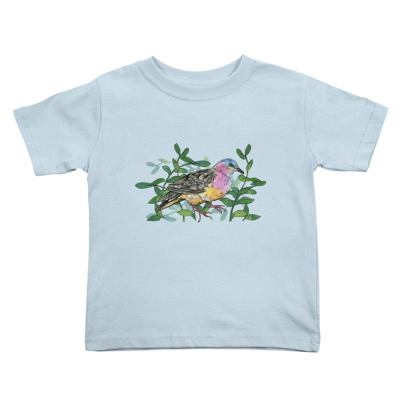 Tolima Dove Kids Toddler T-Shirt by mwashburnart's Artist Shop