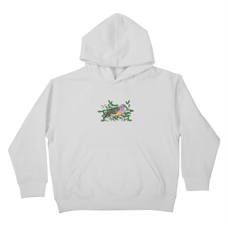 Tolima Dove Kids Pullover Hoody by mwashburnart's Artist Shop