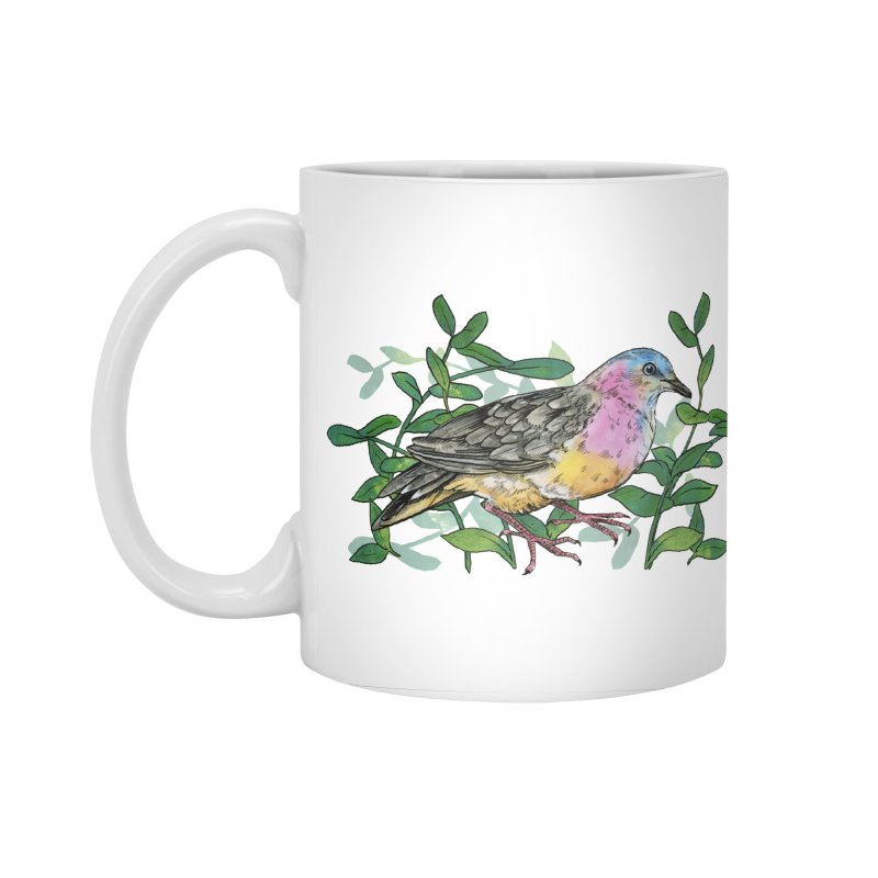 Tolima Dove Accessories Mug by mwashburnart's Artist Shop
