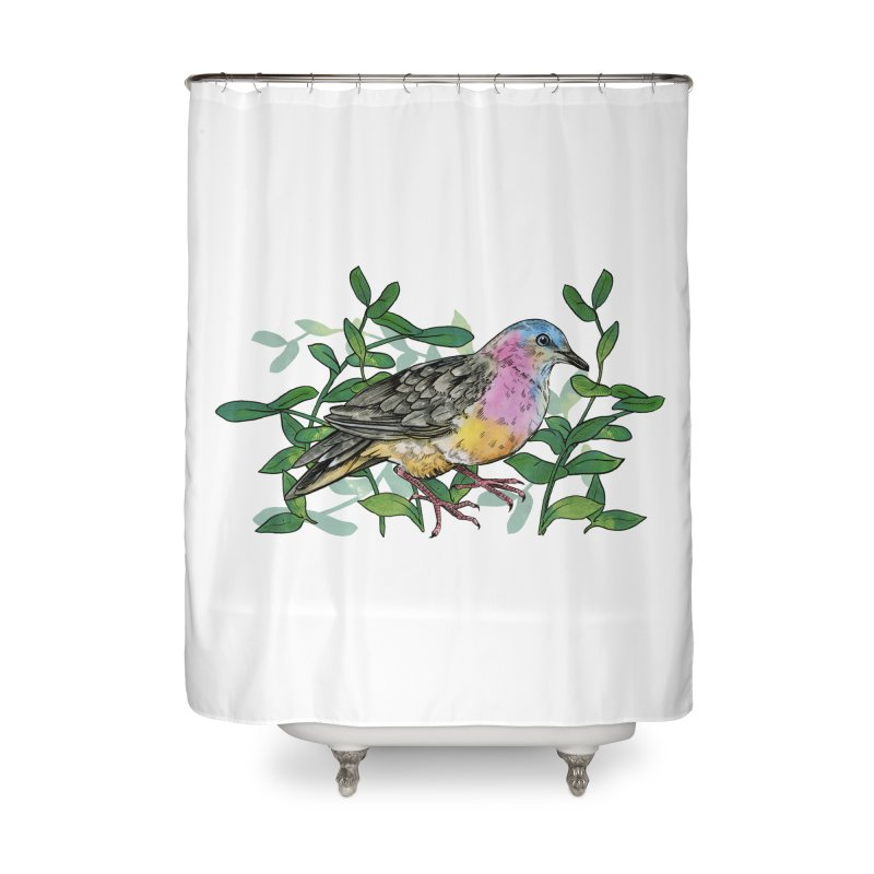 Tolima Dove Home Shower Curtain by mwashburnart's Artist Shop