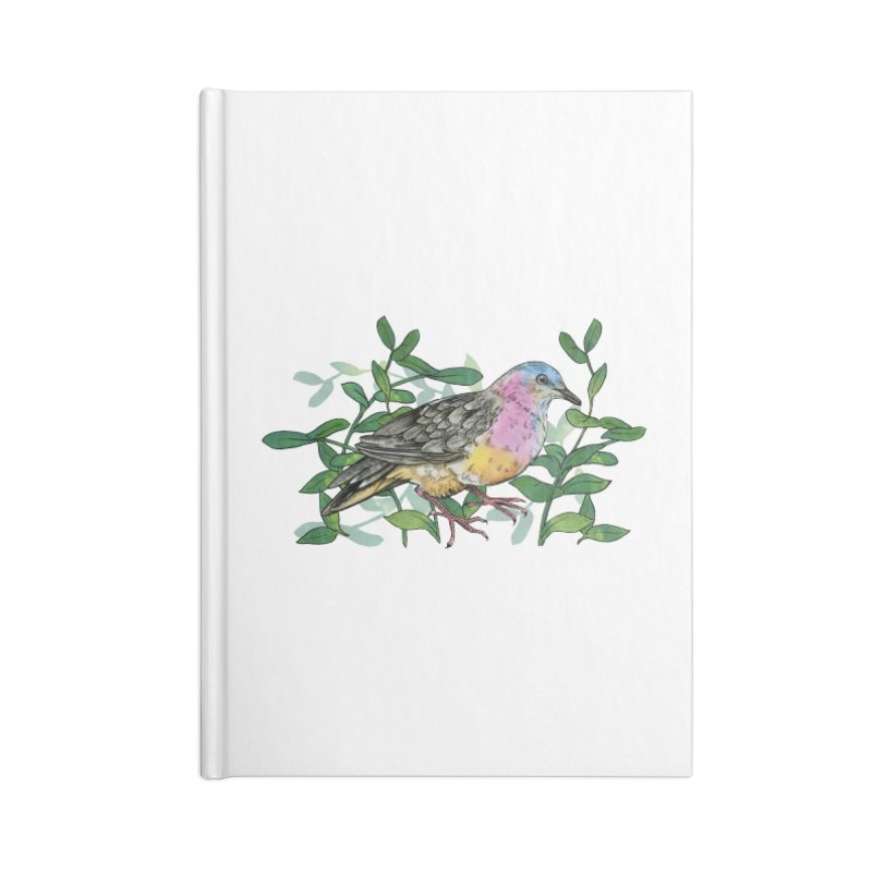 Tolima Dove Accessories Lined Journal Notebook by mwashburnart's Artist Shop