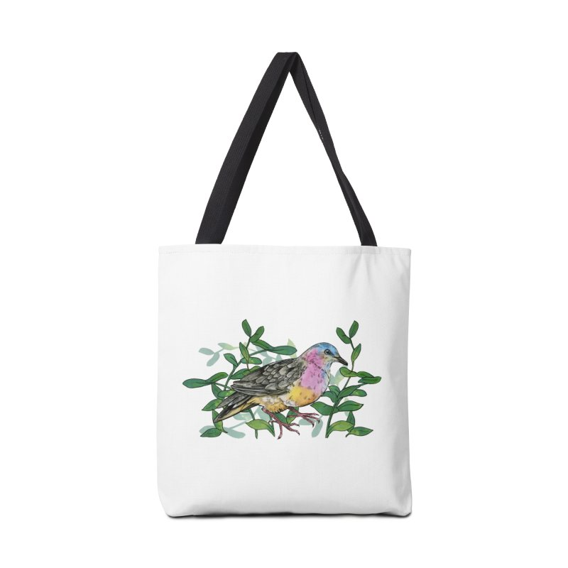 Tolima Dove Accessories Tote Bag Bag by mwashburnart's Artist Shop