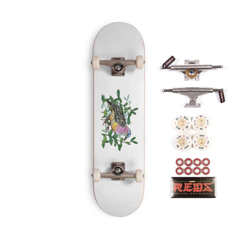 Tolima Dove Accessories Complete - Pro Skateboard by mwashburnart's Artist Shop