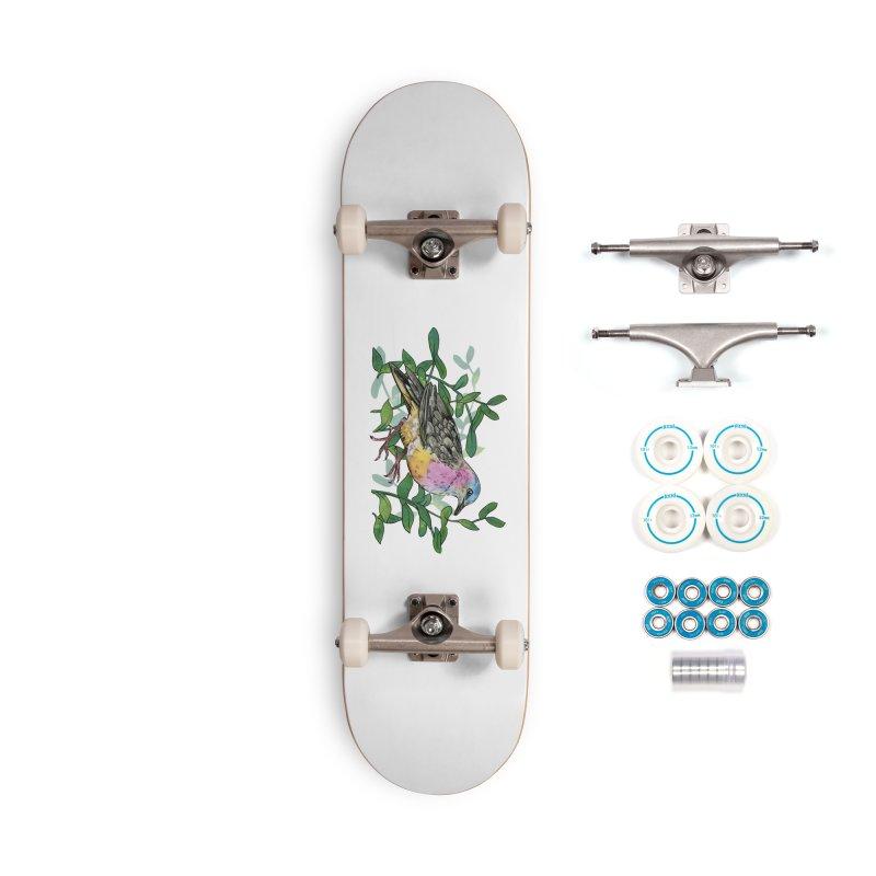 Tolima Dove Accessories Complete - Basic Skateboard by mwashburnart's Artist Shop