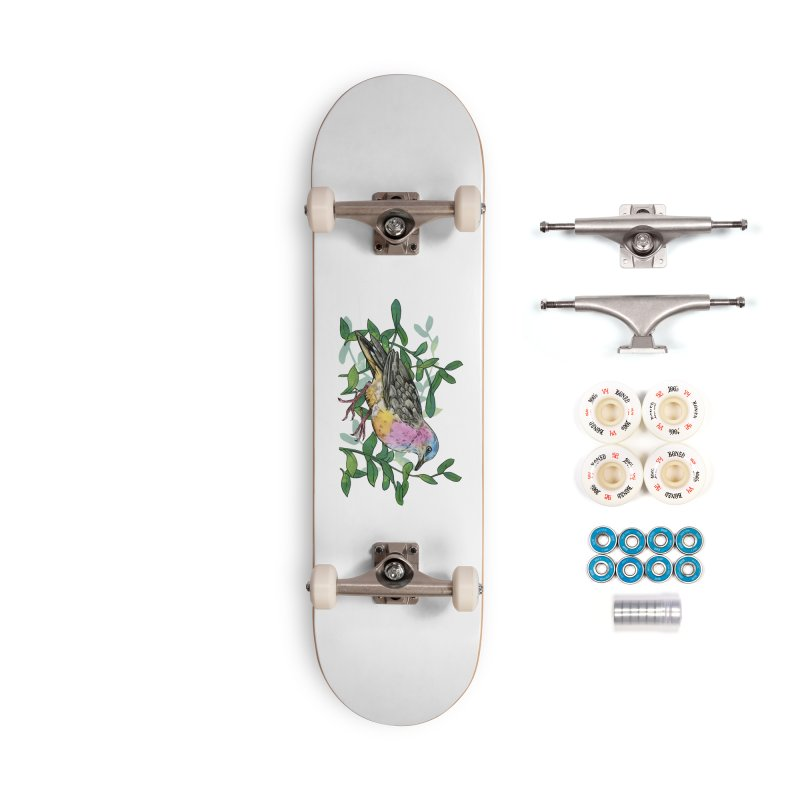 Tolima Dove Accessories Complete - Premium Skateboard by mwashburnart's Artist Shop