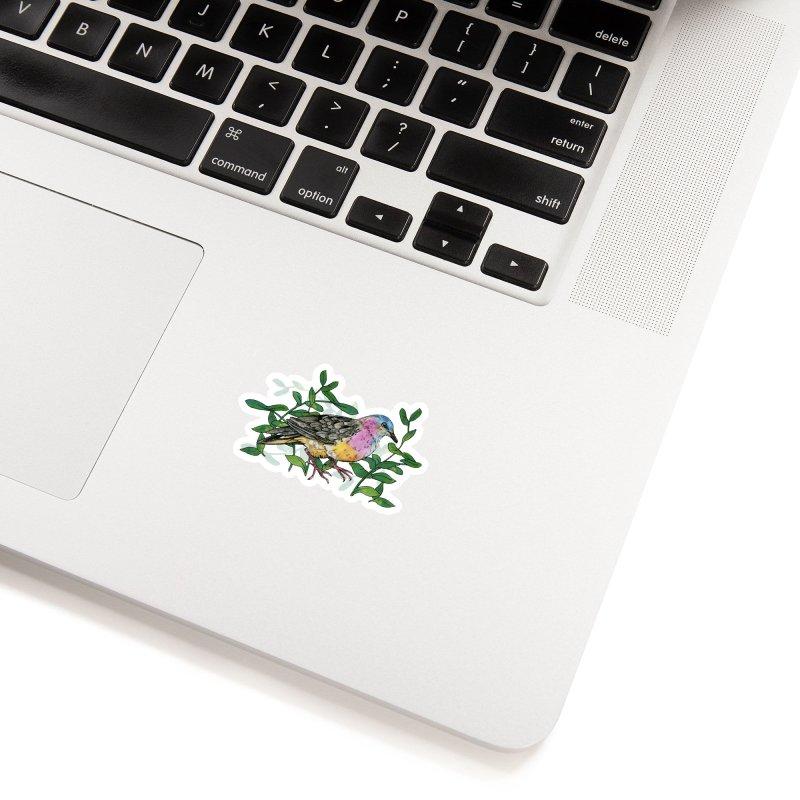 Tolima Dove Accessories Sticker by mwashburnart's Artist Shop