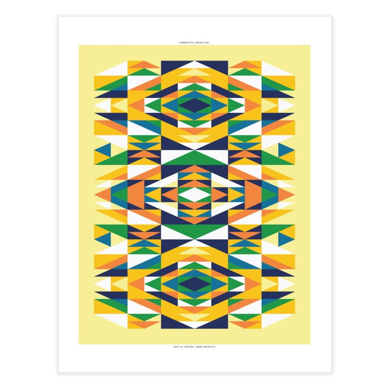 Symmetrics #3. Home Fine Art Print by Matt W. Moore : Artist Shop