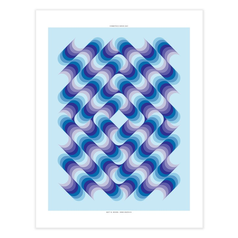 Symmetrics #1. Home Fine Art Print by Matt W. Moore : Artist Shop