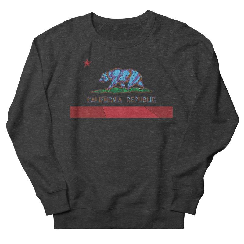 California Bear Flag Men's French Terry Sweatshirt by MXMINK