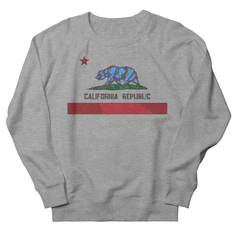 California Bear Flag Men's Sweatshirt by MXMINK