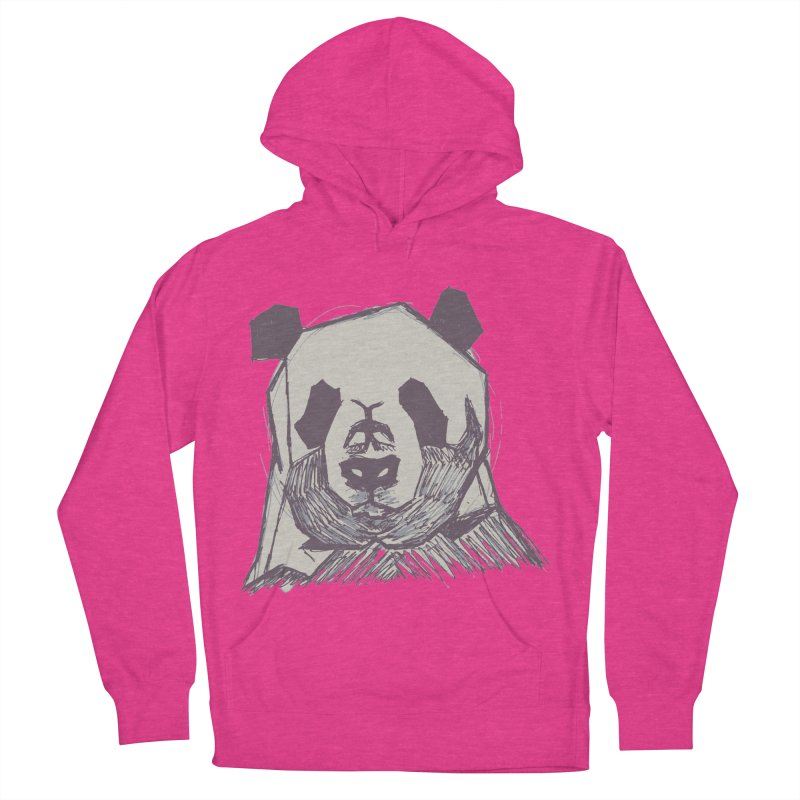 PANDA Women's French Terry Pullover Hoody by MXMINK