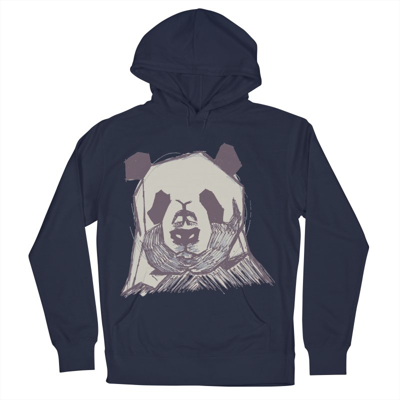 PANDA Men's French Terry Pullover Hoody by MXMINK
