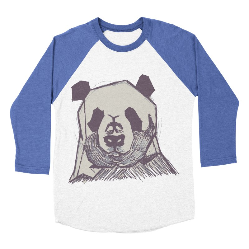 PANDA Men's Baseball Triblend T-Shirt by MXMINK