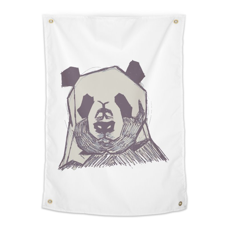 PANDA Home Tapestry by MXMINK