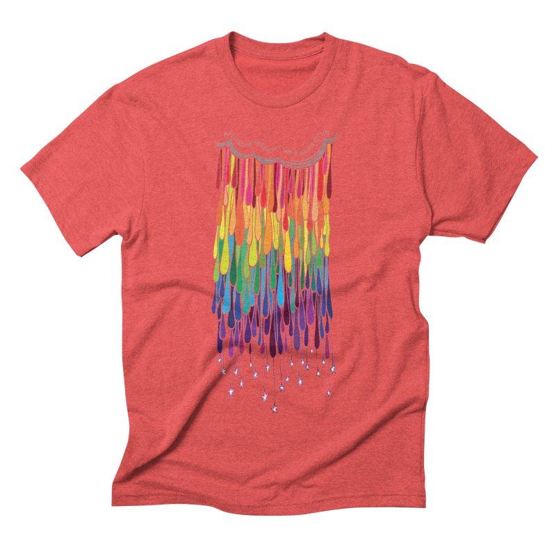 When It Rains Men's Triblend T-Shirt by MXMINK