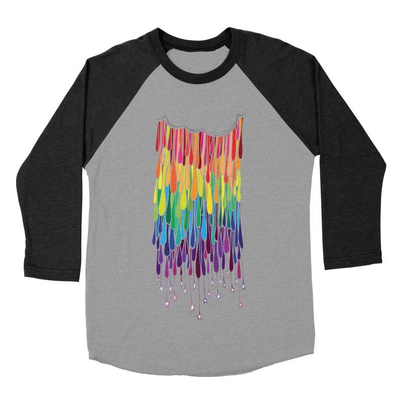 When It Rains Women's Baseball Triblend T-Shirt by MXMINK