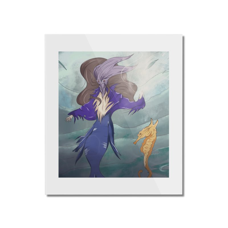 the silent queen. Home Mounted Acrylic Print by myagender