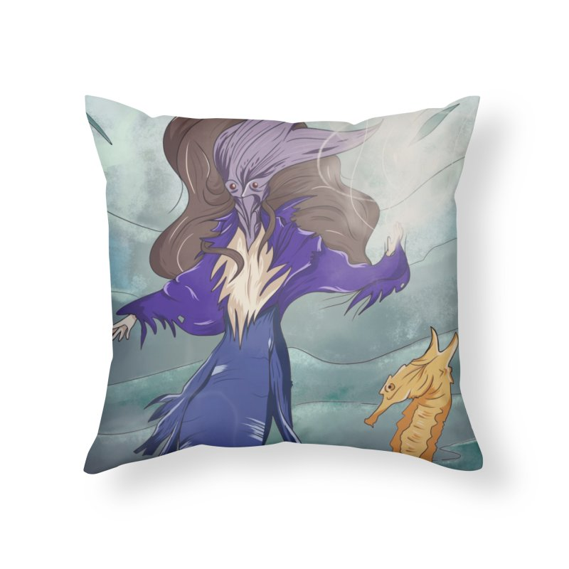 the silent queen. Home Throw Pillow by myagender