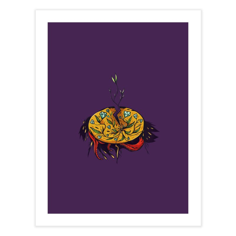 seed. Home Fine Art Print by myagender