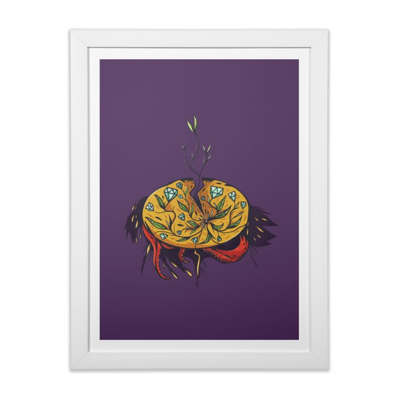 seed. Home Framed Fine Art Print by myagender