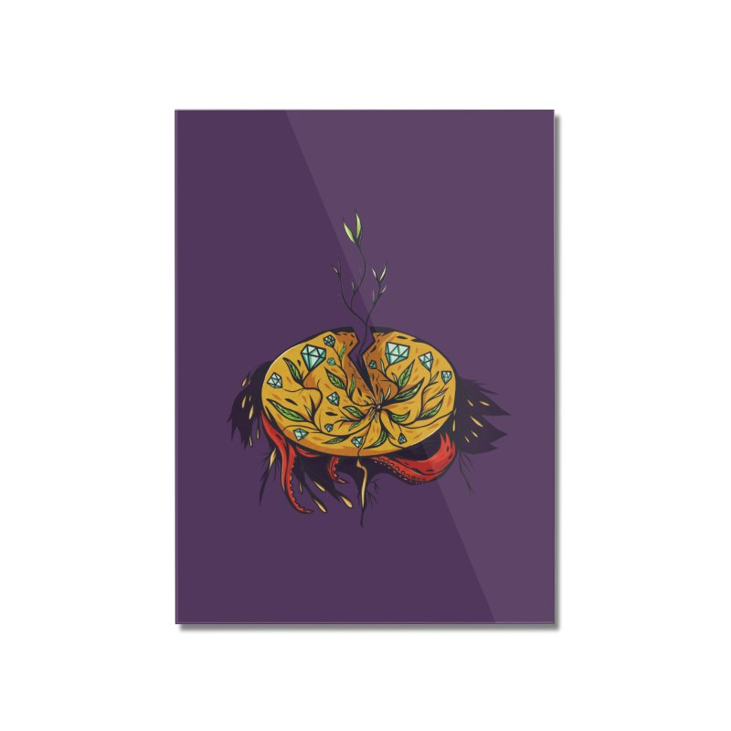 seed. Home Mounted Acrylic Print by myagender